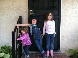 Alia and Zaylah passing through from El Paso to Tacoma. Celebrating Zaylah's birthday.